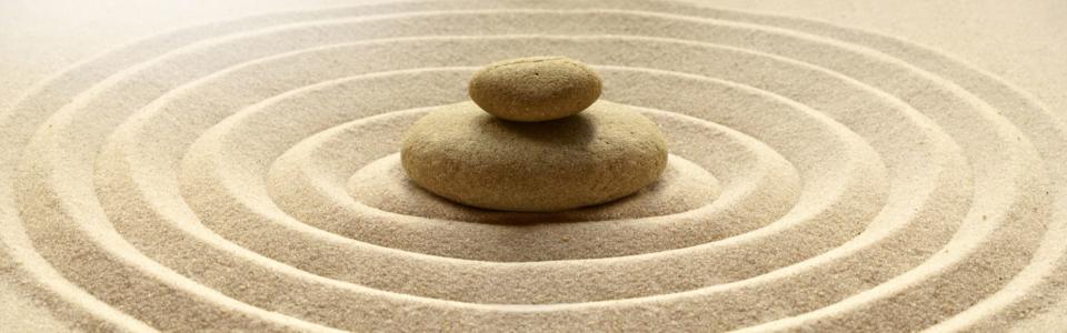Entspannung-Steine